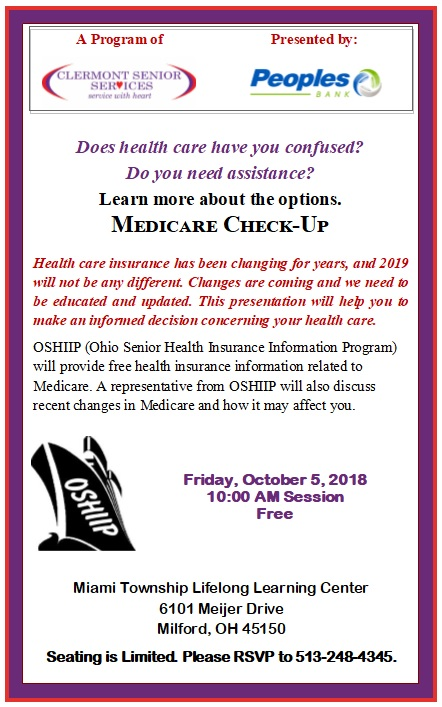 medicare – Clermont Senior Services